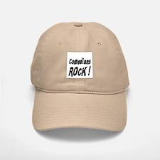 Comedians Rock ! Baseball Baseball Cap