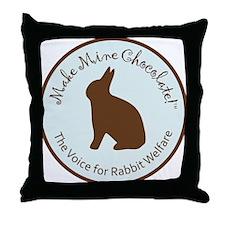 Blue_MMC_Logo Throw Pillow
