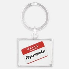 Psycho Landscape Keychain