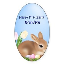 First Easter Grandson Decal