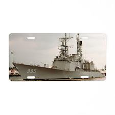 scott large framed print Aluminum License Plate
