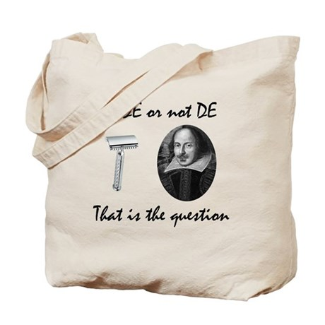 To DE or not DE Tote Bag