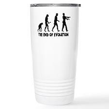 EndofEvolution.black Travel Coffee Mug