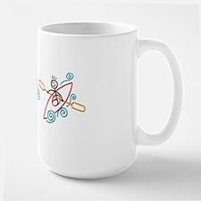 happy kayak color mug Mug
