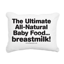 Ultimate Baby Food Rectangular Canvas Pillow