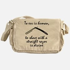 To err is human working Messenger Bag