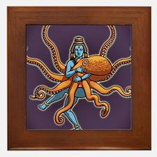 octo-goddess-CRD Framed Tile