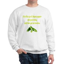 Jalapeno_burn_whgt Sweatshirt