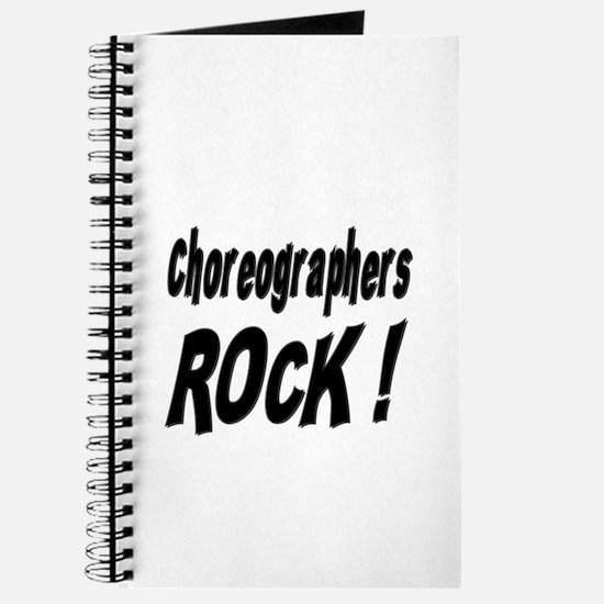 Choreographers Rock ! Journal