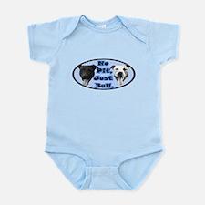 No Pit, Just Bull Infant Bodysuit