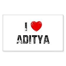 I * Aditya Rectangle Decal