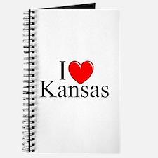 """""""I Love Kansas"""" Journal"""