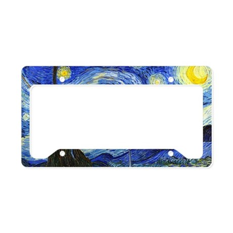 PillowCase VG Starry License Plate Holder