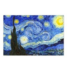 PillowCase VG Starry Postcards (Package of 8)
