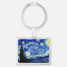 PillowCase VG Starry Landscape Keychain