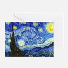 PillowCase VG Starry Greeting Card