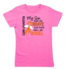 D Angel 2 Son Leukemia Girl's Tee