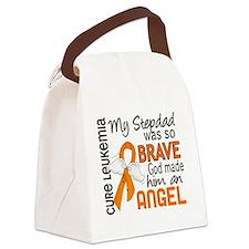 D Angel 2 Stepdad Leukemia Canvas Lunch Bag