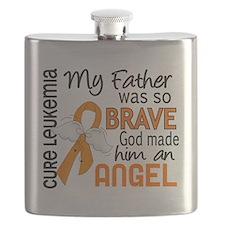 D Angel 2 Father Leukemia Flask