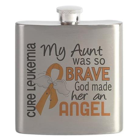 D Angel 2 Aunt Leukemia Flask
