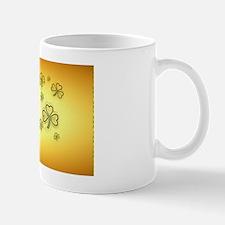 2a-ClutchBagGold and Green Shamrocks-2 Mug