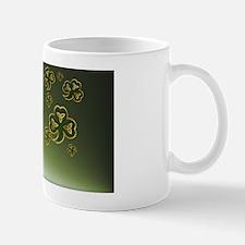CoinPurse1Gold and Green Shamrocks Mug