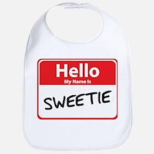 Hello My Name is Sweetie Bib