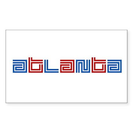 ATL SUPREME Rectangle Sticker