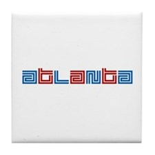 ATL SUPREME Tile Coaster