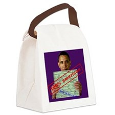 obama100-clutch Canvas Lunch Bag