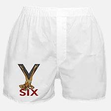 V6 Engine Boxer Shorts