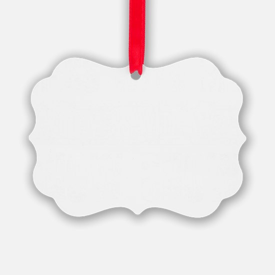 chow chow mess white Ornament