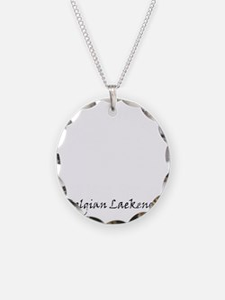 belgian laekenois white Necklace Circle Charm