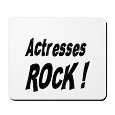 Actresses Rock ! Mousepad