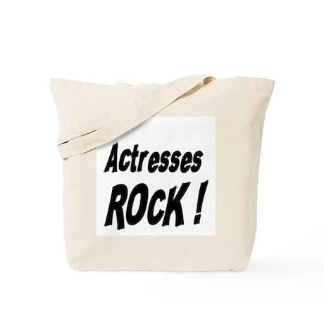 Actresses Rock ! Tote Bag