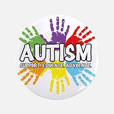 """Autism 3.5"""" Button"""