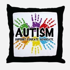 Autism Throw Pillow
