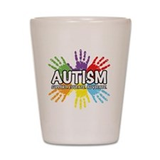 Autism Shot Glass