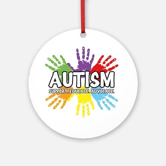 Autism Round Ornament