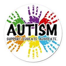 Autism Round Car Magnet