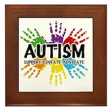 Autism Framed Tile