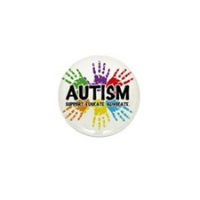 Autism Mini Button