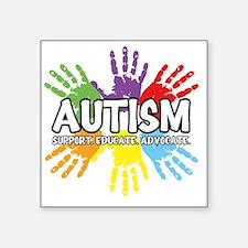 """Autism Square Sticker 3"""" x 3"""""""
