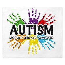 Autism King Duvet