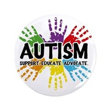 "Autism 3.5"" Button"