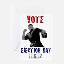 ejection day - ump Greeting Card