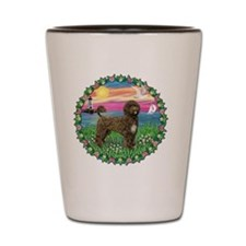 Wreath-Sunset-brownPWD2C Shot Glass