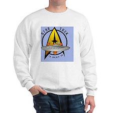 startrekship01sq1 Sweatshirt