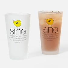 sing Drinking Glass