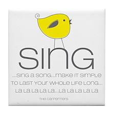 sing Tile Coaster